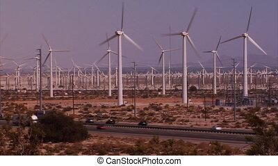 autoroute, turbine