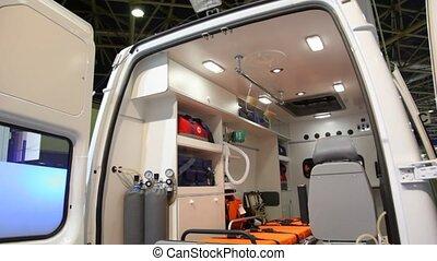 autos, enthalten, internally, krankenwagen