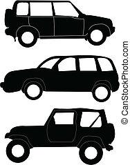 auto's, illustratie