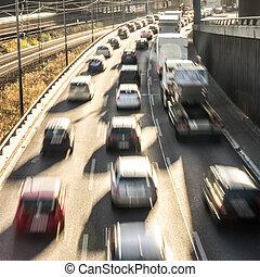 autos, landstraße