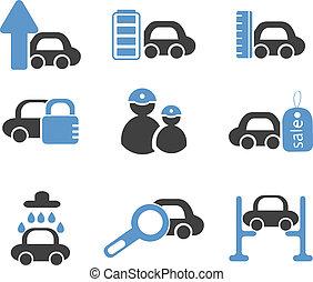 auto's, tekens & borden
