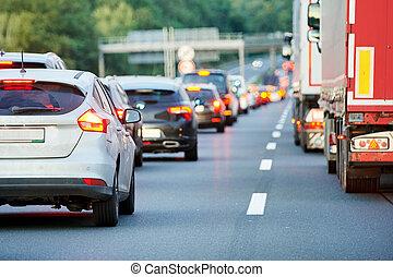 autostrada, καταπίπτω , αυτοκινητόδρομοs , πελτέs , κυκλοφορία , ή , δρόμοs