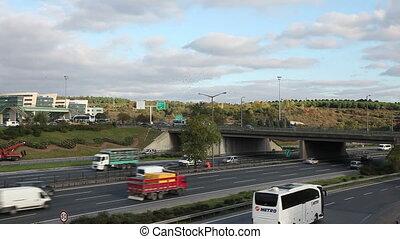autostrada, handel