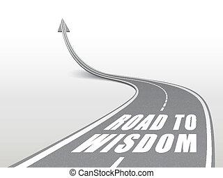 autostrada, parole, strada, saggezza