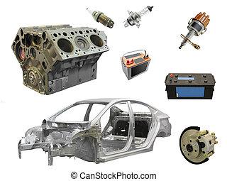 autoteile, ersatzteil