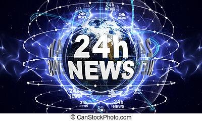 autour de, texte, 24h, infographie, nouvelles, mondiale
