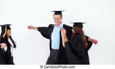 autre, étudiants, étreindre, chaque, gai, gradué