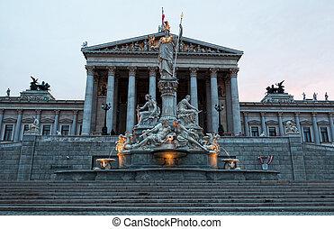 autrichien, parlement, vienne