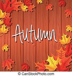 autum season design, vector illustration eps10 graphic