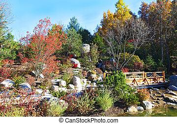 autumal, 日本の庭
