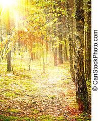 autumn., πέφτω