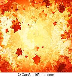 autumn abstract grunge background