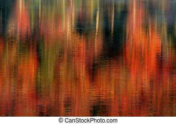 Autumn Abstract Reflections