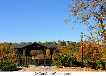 Autumn and the Crescent Hotel - at the East Mountain ...