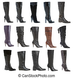 Autumn and winter female footwear
