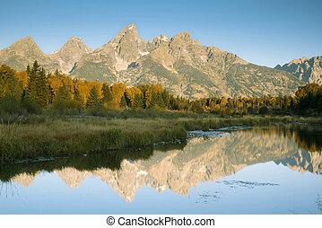 Autumn at Grand Teton National Park