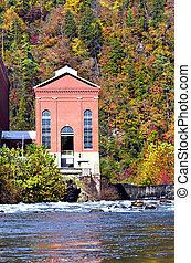 Autumn at the Power Plant