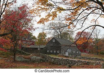 Autumn at Weir Farm