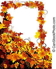 autumn background - autumnal background