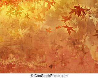 Autumn background pattern