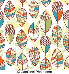 Autumn background seamless pattern