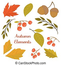 Autumn background vector illustration