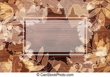 Autumn background with copyspace