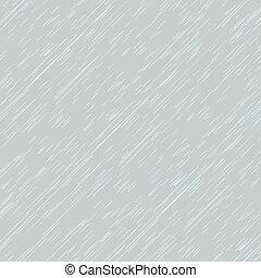 Autumn background with rain