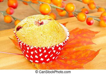 Autumn Cake with Berries