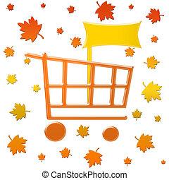 Autumn cart