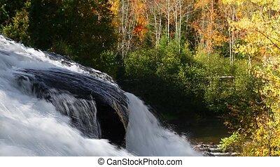 Autumn Cascading Waterfall Loop