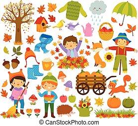 Autumn Clip Art Set