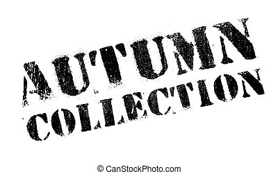 Autumn collection stamp