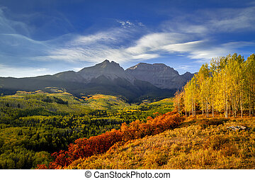 Autumn Color in San Juan and Rocky Mountains of Colorado - ...