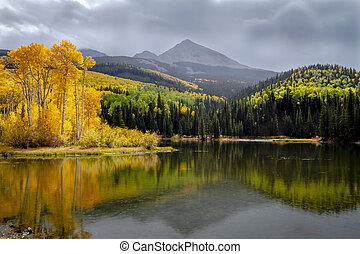 Autumn Color in San Juan and Rocky Mountains of Colorado