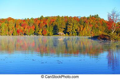 Autumn colors, Adirondacks New York