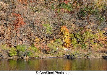 Autumn Colors Along The Upper Mississippi