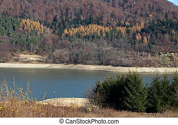 Autumn colors in the mountains
