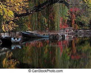 Autumn colours - Herastrau Park