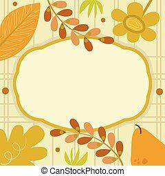 Autumn Decorative Sign