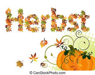 Autumn design