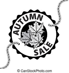 Autumn discounts and sale