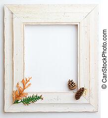 Autumn Fall wooden frame