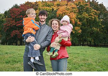 autumn family of four