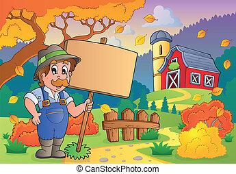 Autumn farm theme 2