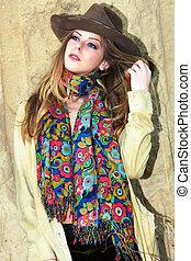 autumn fashion woman