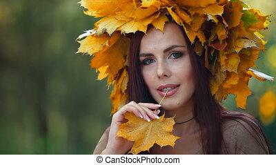 Autumn Female Portrait