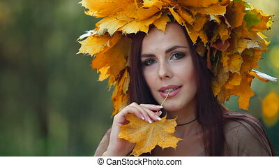 Autumn Female Portrait