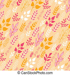 Autumn Filed In the Wind Seamless Pattern background