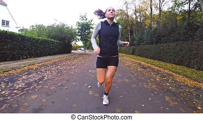Autumn Fitness Running